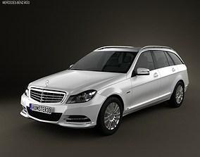 Mercedes-Benz C-class Estate 2012 3D model