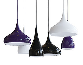 3D model Hanging Ceiling Lamps
