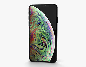 Apple iPhone XS Max Space Gray mobile 3D model