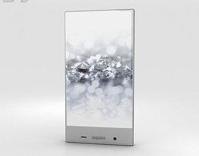 Sharp Aquos Crystal 2 White 3D model