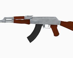 AK 47 Low 3D asset
