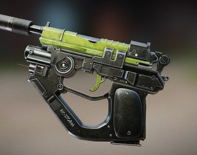 3D model Advanced Pistol