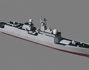 Chinese Navy Type 054A Jiangkai II Class Frigates 3D model