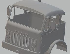 Volvo F86 Printable Cabin Truck