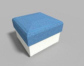 low poly taburet 3D model