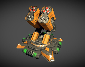 Missile Turret 3D model