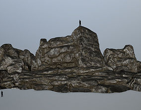 rocks 3D asset realtime mosy