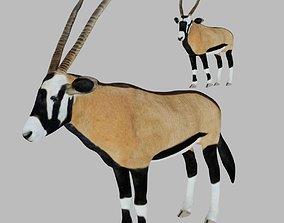 3D asset Oryx Antelope