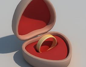 Casket love 3D model