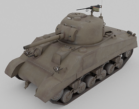 M4 Sherman Medium Tank 3D asset