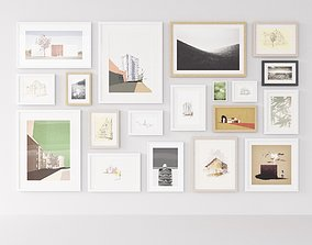 3D model Picture Frames Mixed