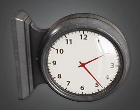 Gym School Clock - HSG - PBR Game Ready 3D asset