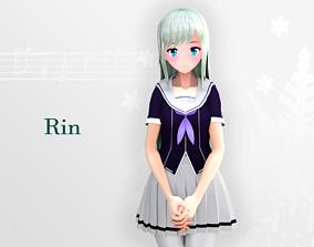 rigged Rin 3d model - Original