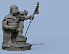 hero 3D print model SUPER MARIO BROS