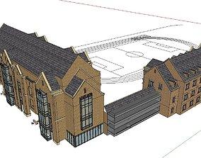 3D Office-Teaching Building-Canteen 38