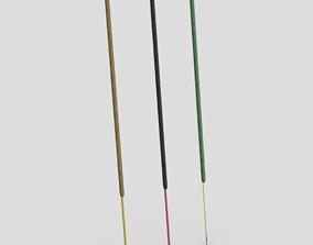 Incense Stick 3D asset