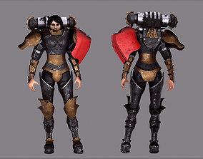 Warhammer Battle Sister Soldier 3D model