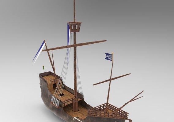 Santa Maria Ship 2