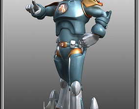 Spaceman Rigged 3D model