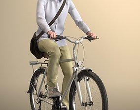 3D asset Will 20020-06 - Animated Cycling Man