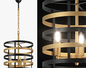 735030 Epsilon Lightstar Chandelier 3D model