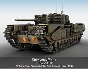 3D Churchill MK IV - T67201R