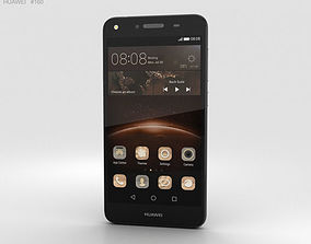 3D Huawei Y5II Obsidian Black