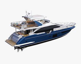 3D model cutter Luxury Motor Yacht Generic