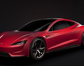 Tesla Roadster 2020 3D