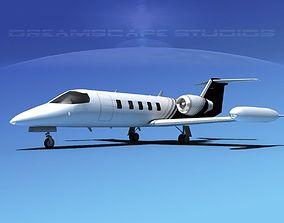 3D Gates Bombardier Learjet 35 V14