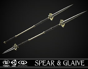 Spear and Glaive A5 3D asset PBR