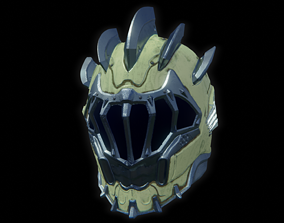 Sentinel Helmet from Doom Eternal 3D print model