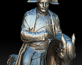 17th Century 3D Military leader on horse