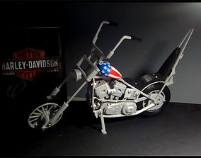 Chopper Harley 3D printable model