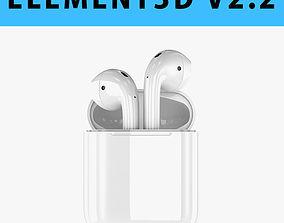 E3D - Apple AirPods model