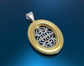 pendant 3d model jewellery