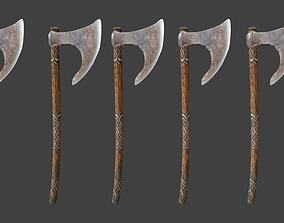 3D model Celtic Weapons