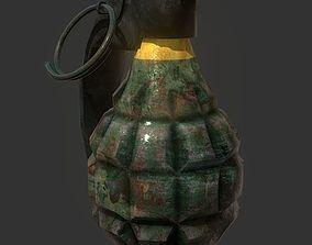 Grenade Explosive Game Ready 3D model