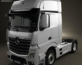 Mercedes-Benz Actros 1851 Tractor Truck 2013 3D