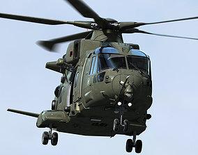 force RAF EHI EH-101 Merlin 3D model