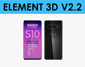 E3D - Samsung Galaxy S10 Black