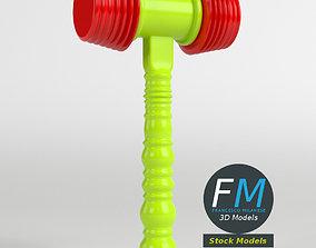 Toy hammer 3D