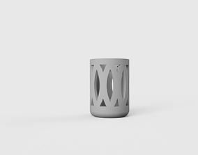 Pen Holder 3D print model simplicity