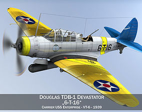 3D Douglas TDB-1 Devastator - 6T16 ww2