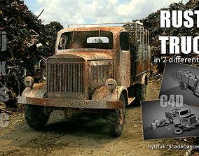 Rusty Truck 3D model PBR