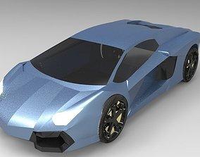 Lamborgini Aventador 3D model