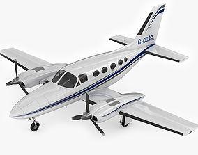 3D Cessna 421 Golden Eagle
