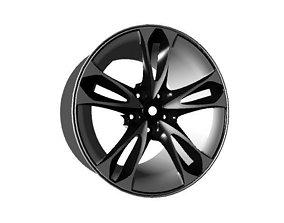3D asset Rim For High Performance Cars AAA
