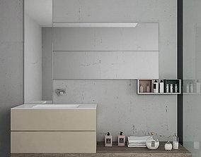 3D model Bathroom furniture set Arcom Pollock Yapo