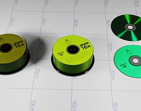 3D model A Collection of Compact-disks